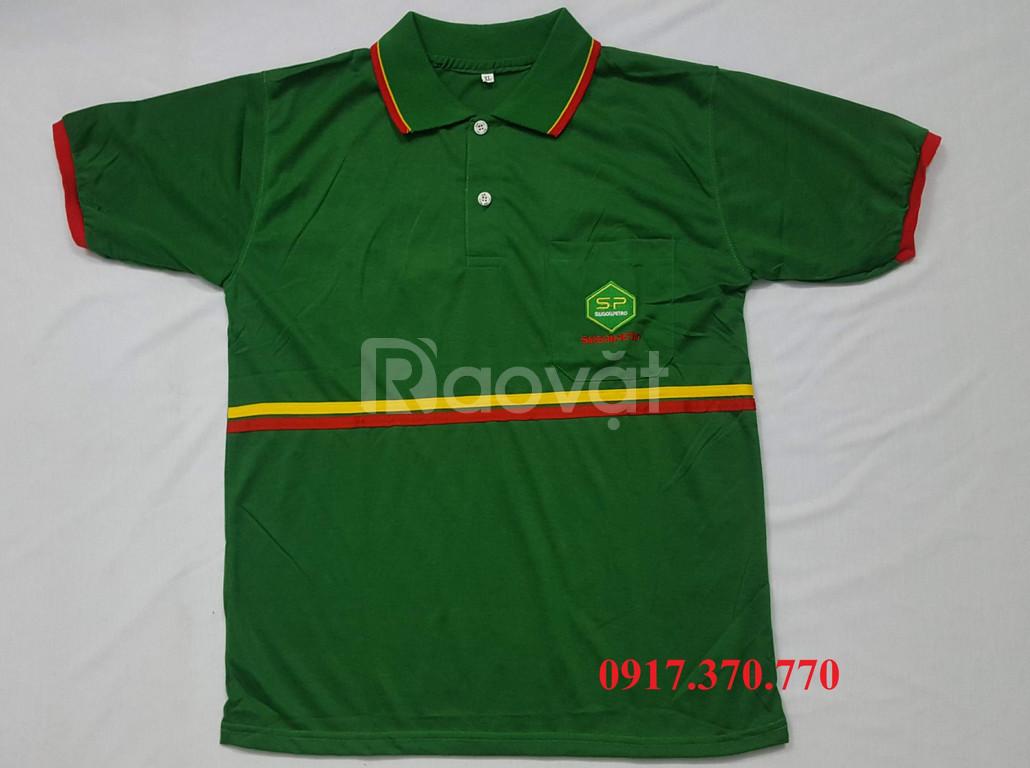 Xưởng may áo thun Polo, áo thun cá sấu giá rẻ HCM (ảnh 4)