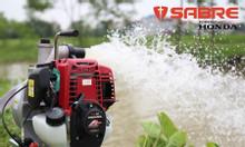 Thanh lý máy bơm nước tưới cây, tưới rau mini Honda (GX35) chính hãng