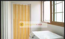 Cửa xếp nhựa nhà vệ sinh giá rẻ tại Hà Nội