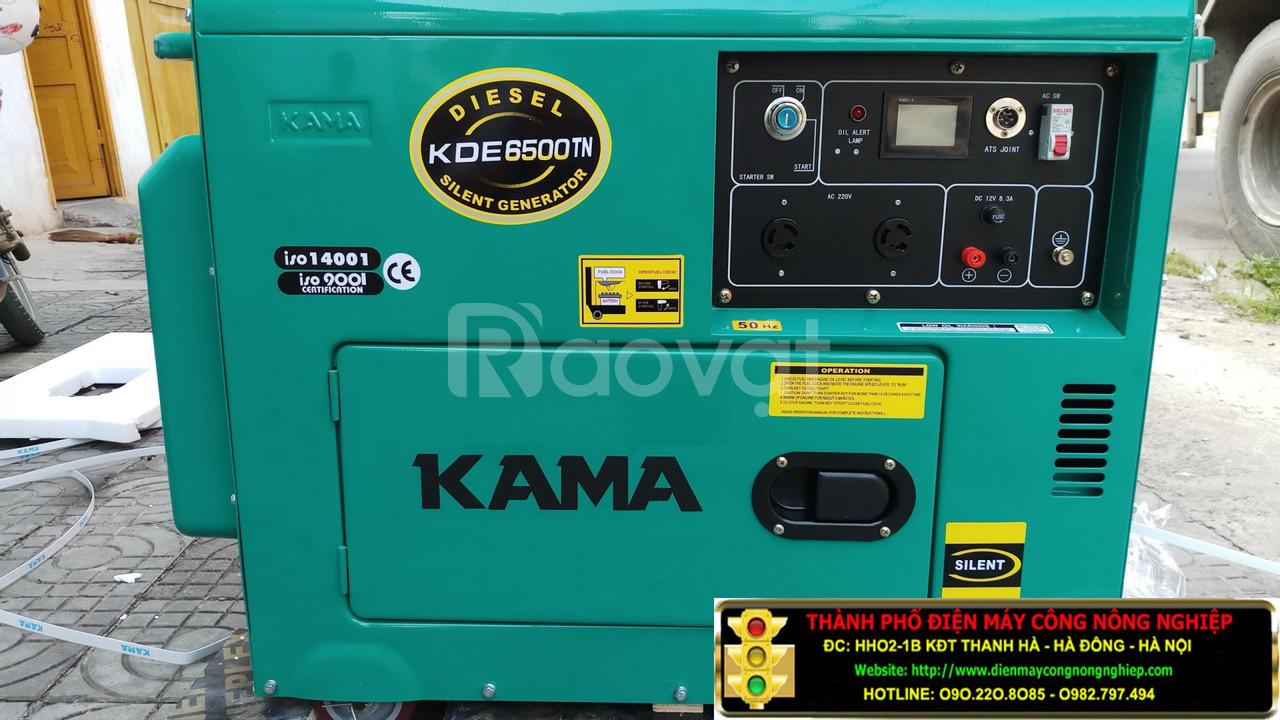 Bán máy phát điện chạy dầu Kama KDE 7800T-6kva nhập khẩu giá rẻ