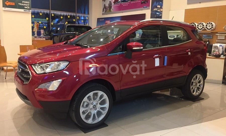 Ford Ecosport giá tốt nhận xe ngay hỗ trợ duyệt ngân hàng đến 80% (ảnh 1)