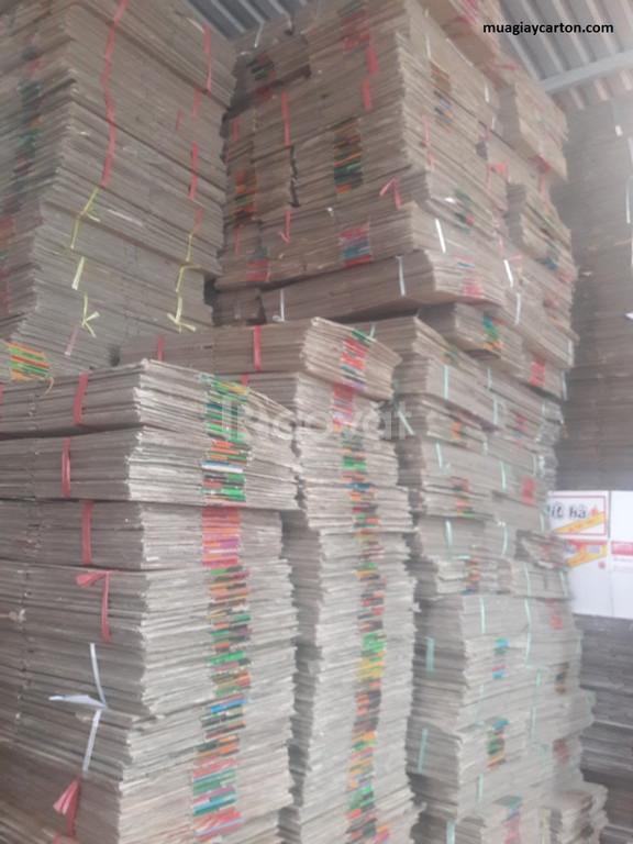 Thu mua giấy phế liệu carton giá cao
