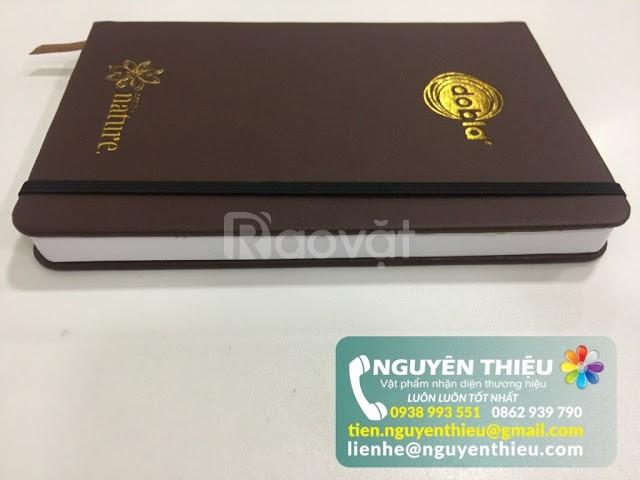 Xưởng sổ da quà tặng, cung cấp sổ tay bìa da, sổ tay bìa còng giá rẻ