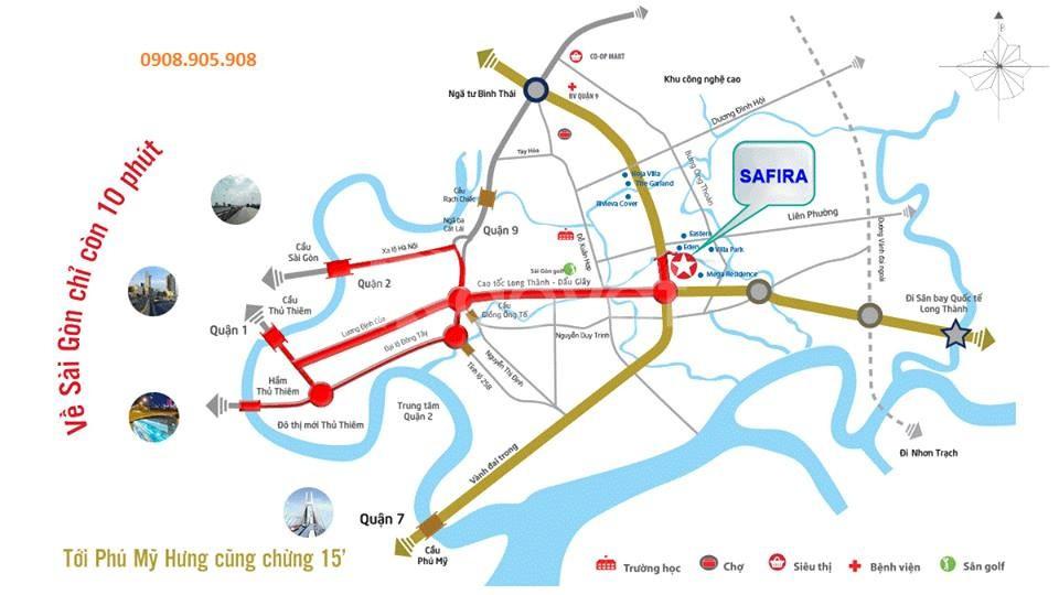 Bán dự án Safira khang điền chiết khấu 18,5% (ảnh 3)