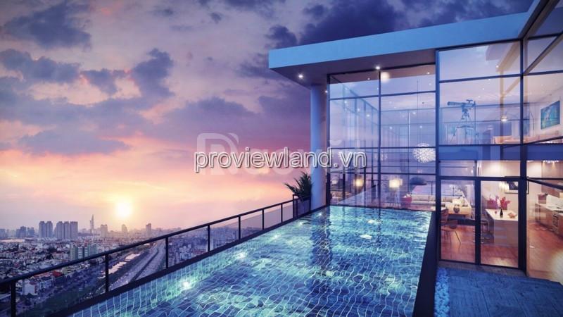 Bán căn Penthouse Gateway  Thảo Điền 450m2 2 tầng thông nhau 4PN (ảnh 7)