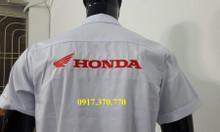 Quần áo trắng Honda giá rẻ