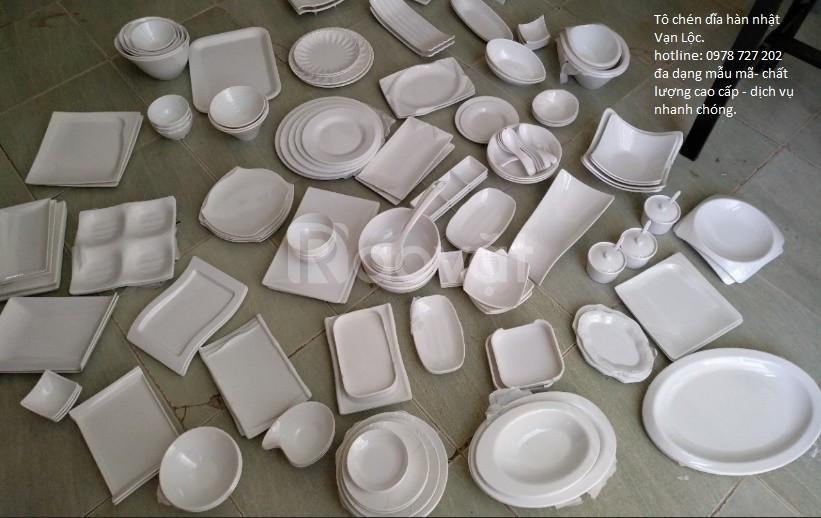 Tô chén hàn, chén dĩa hàn, tô chén dĩa melamine hàn nhật, bát đĩa hàn
