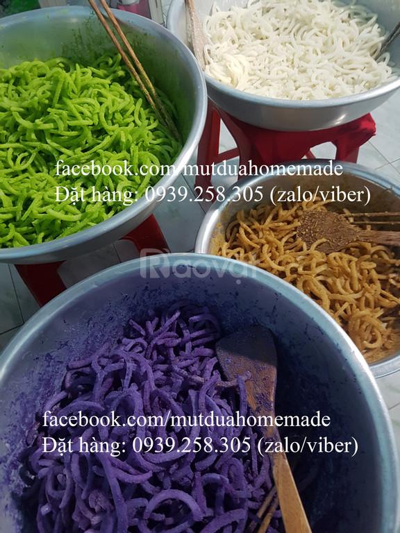 Mứt dừa non - Sỉ mứt dừa non - Mứt dừa non homemade