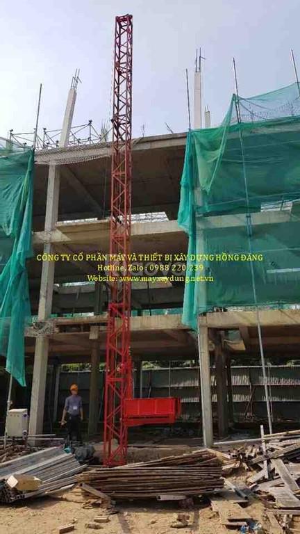 Chế tạo bán vận thăng xây dựng tại HN & Sài Gòn