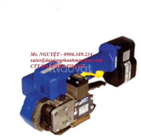Máy niềng đai nhựa cầm tay dùng pin hàn nhiệt tự động giá rẻ Đồng Nai (ảnh 1)