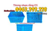 Thùng nhựa rỗng C3 giá rẻ tại Hà Nội