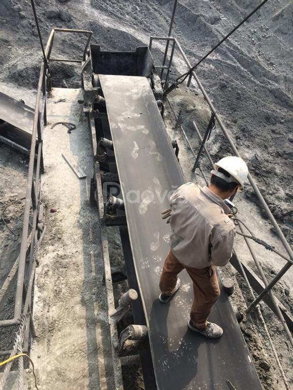 Băng tải Katsumi phục vụ cho khai thác đá và khai khoáng