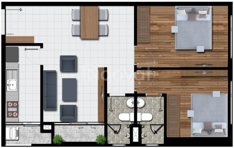 Bán căn hộ Phú Đông Premier view Đông Nam, căn góc 71m2 giá rẻ (ảnh 3)