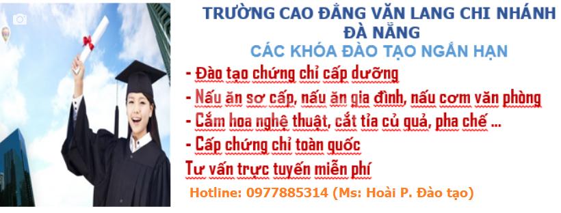 Địa chỉ  học chứng chỉ cấp dưỡng mầm non tại Đà Nẵng