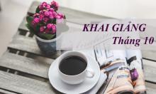 Khai giảng lớp học tiếng Trung 10-2018