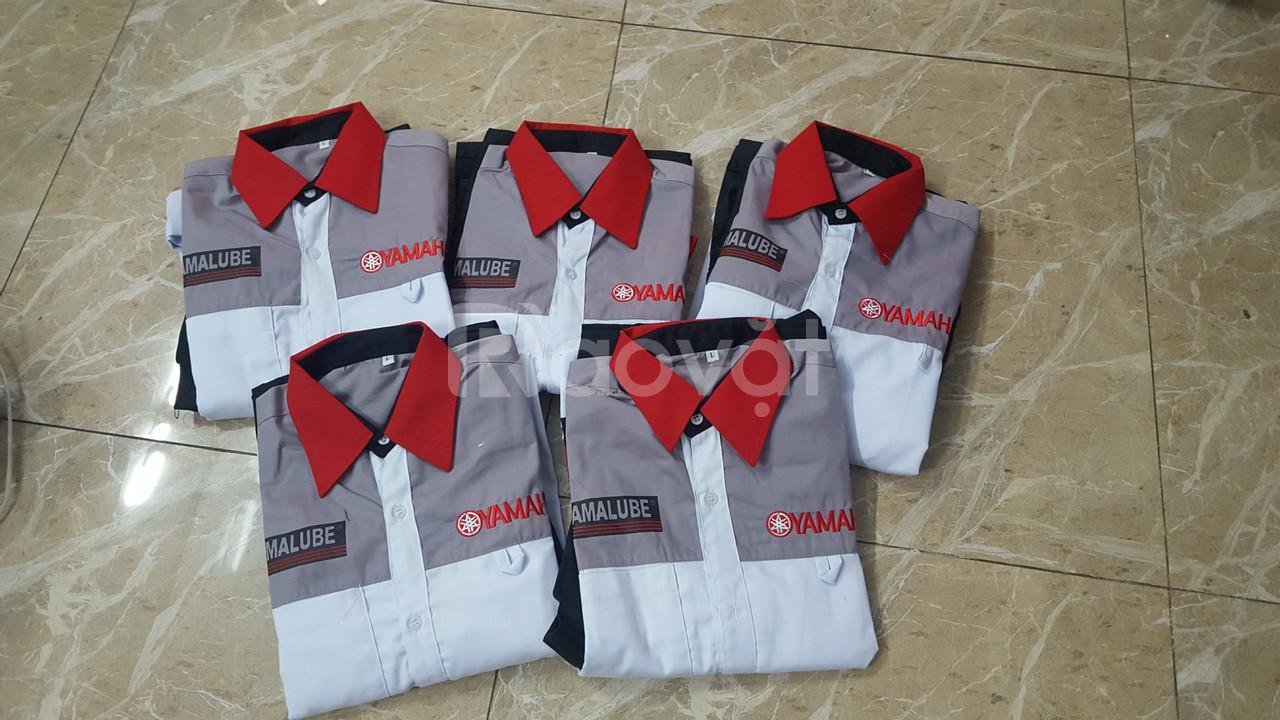 Đồng phục sửa xe máy giá rẻ toàn quốc
