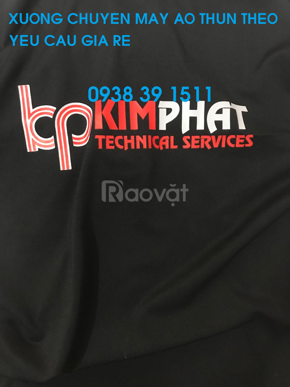 Xưởng may áo thun đồng phục, may áo thun đồng phục công ty (ảnh 5)