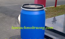 Thùng phuy nhựa 220lit, thùng phuy đựng dầu nhớt, thùng phuy làm bè