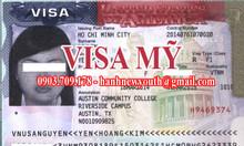 Dịch vụ làm visa Mỹ thành công 99%