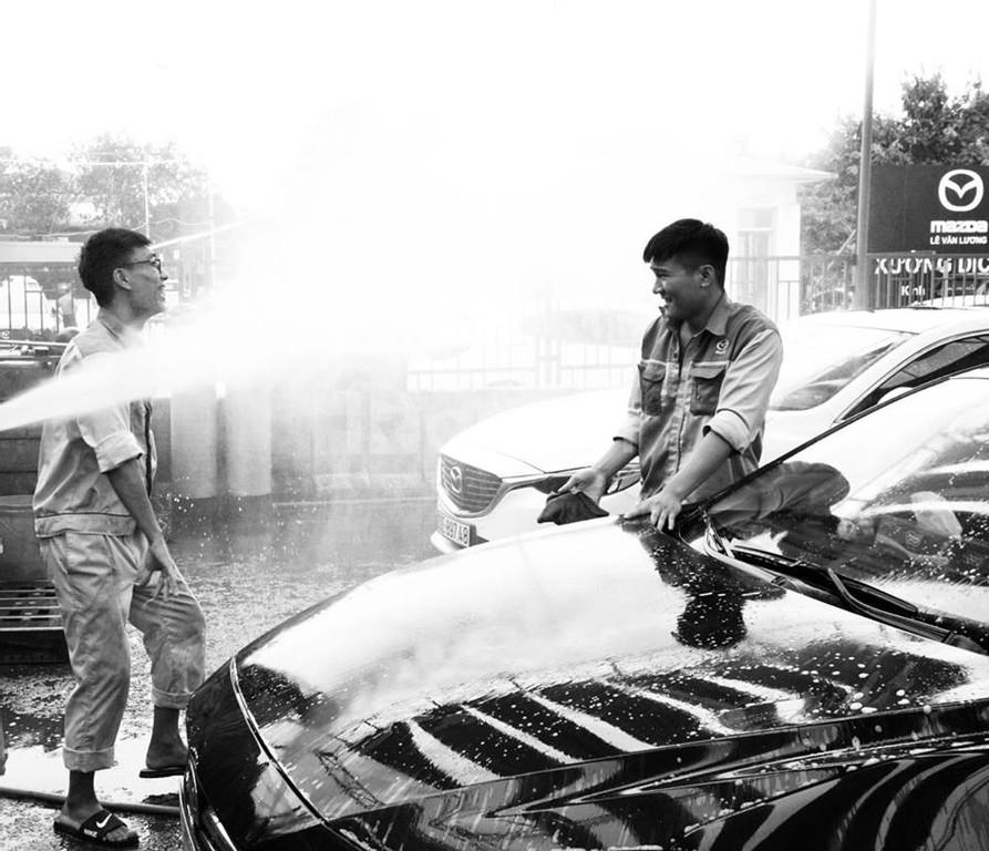 Tuyển dụng nhân viên rửa xe ô tô