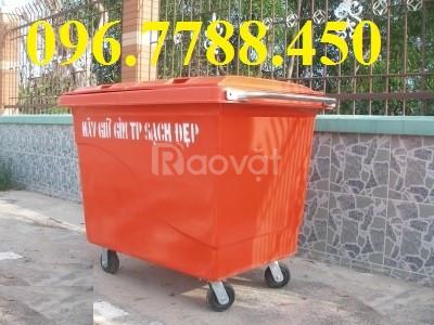 Bán thùng rác nhựa 660 lít giá rẻ toàn quốc