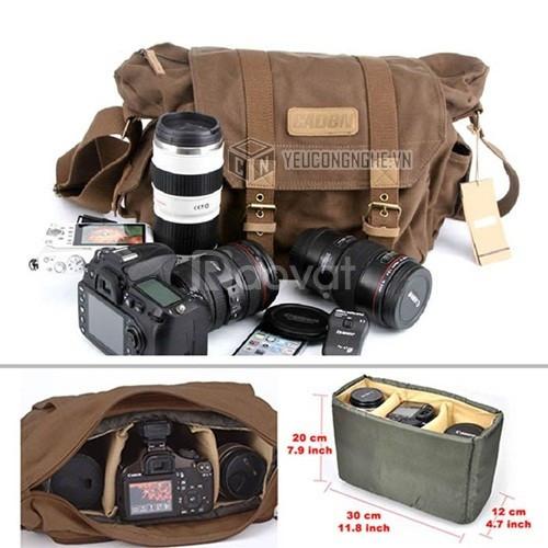 Túi máy ảnh DSLR đeo vai Camera bag Caden F1 chính hãng