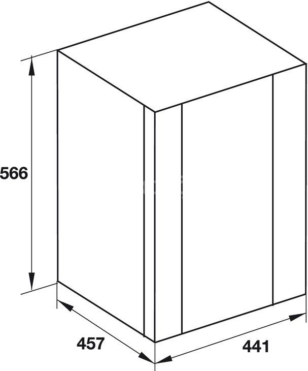 Tủ lạnh Hafele mã 536.14.001 (ảnh 4)