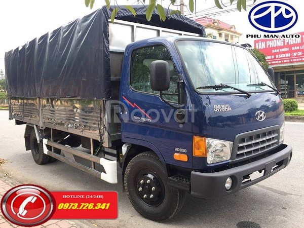 Xe tải 7 tấn HuynhDai HD700 thùng dài 5m
