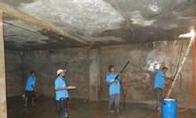 Vệ sinh thau rửa bể nước ăn tại Nguyễn Xiển