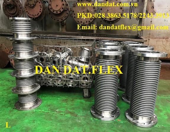 Sản phẩm dùng cho nhà máy thép: Khớp nối mềm, khớp chống rung inox