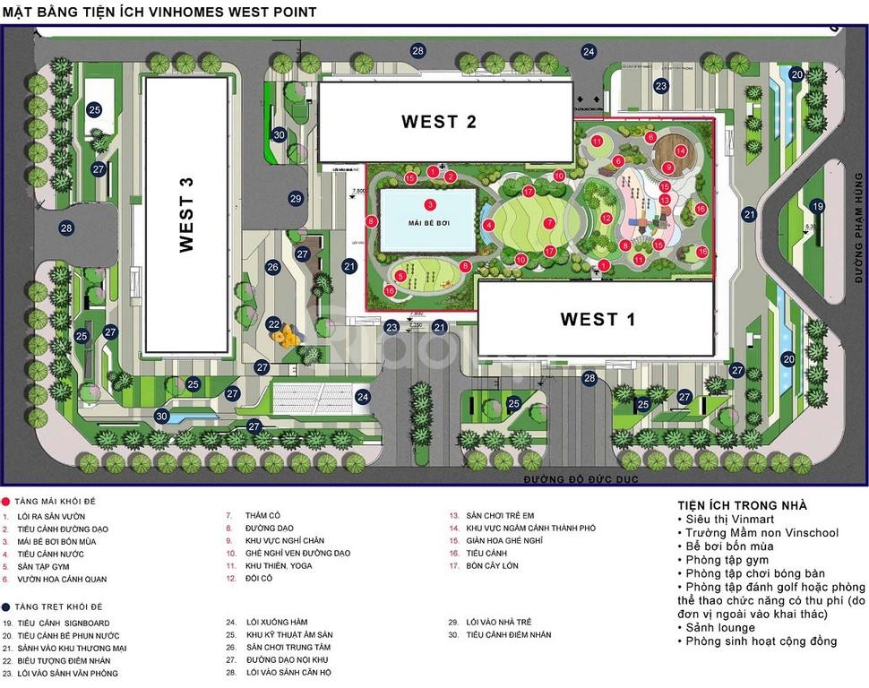 Mua nhà chỉ với 330 triệu tại Vinhomes West Point W1 Đỗ Đức Dục (ảnh 7)