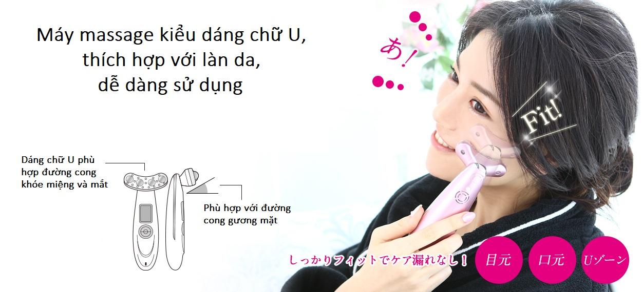 Máy massage mặt belulu Rebirth - Đại lý chính hãng tại Việt Nam