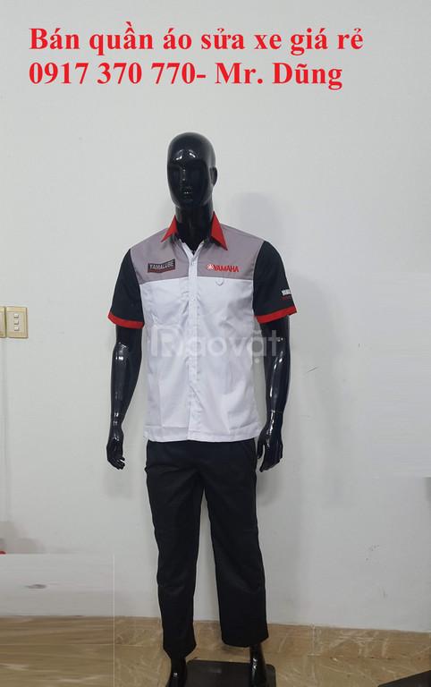 Chuyên sản xuất đồng phục xe máy các hãng giá rẻ