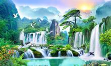 Gạch tranh 3d phong cảnh