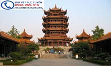 Vé máy bay giá rẻ đi Vũ Hán Trung Quốc