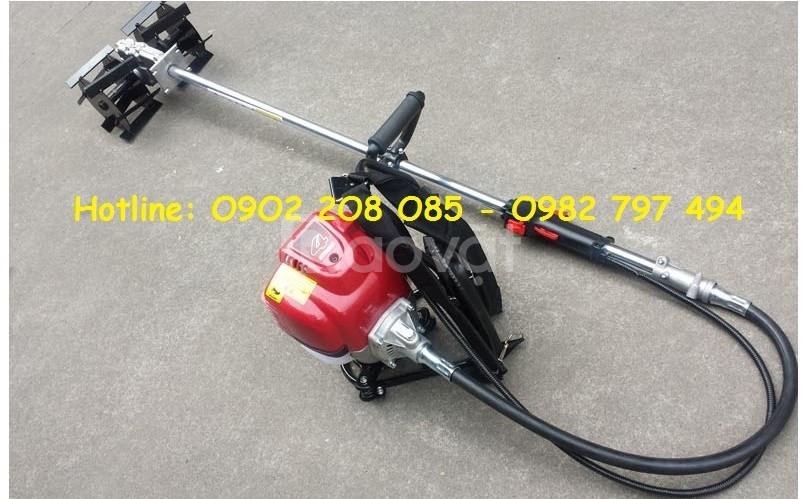 Máy xạc cỏ đa năng 4in1(cắt, xạc cỏ,xới đất và bơm nước) đeo vai gx35