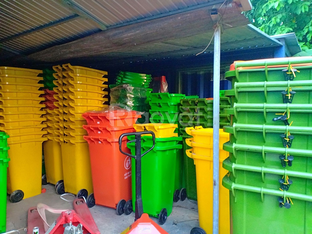 Bán chuyên thùng rác 120 lít
