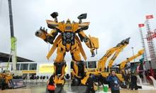 Hội chợ máy móc xây dựng, máy sản xuất vật liệu xây dựng