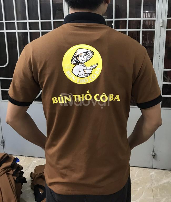 Xưởng may áo thun đồng phục cá sấu ở Sài Gòn