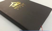 Cơ sở in sổ tay quà tặng tại TPHCM, sản xuất sổ tay quà tặng giá rẻ