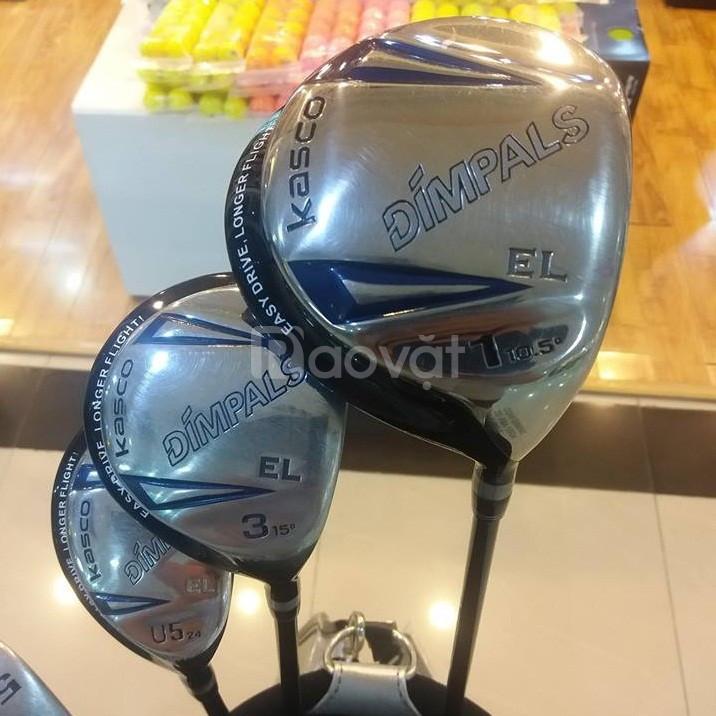 Bộ gậy golf Kasco qua sử dụng chính hãng giá rẻ
