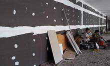 Thi công gạch mát, vách gạch mát, vách ngăn phòng, vách chống nóng
