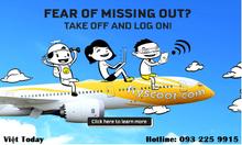 Khuyến mãi vé máy bay hãng Scoot -Tiger Airways