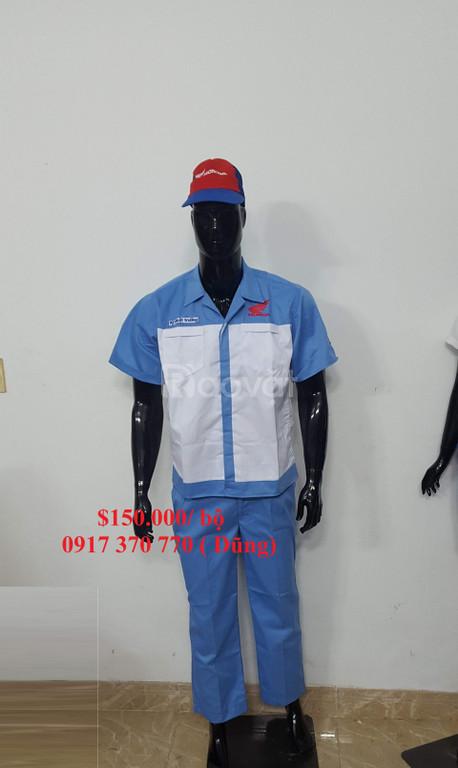 Quần áo thợ sửa xe máy honda, yamaha giá rẻ toàn quốc (ảnh 5)