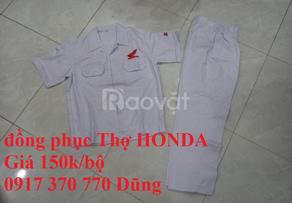 Quần áo thợ sửa xe máy honda, yamaha giá rẻ toàn quốc (ảnh 3)