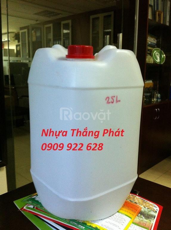Can nhựa đựng hóa chất 25L (ảnh 6)