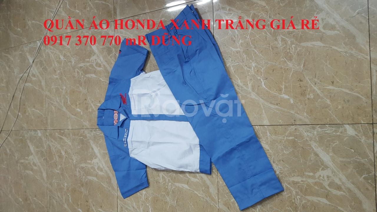 Quần áo thợ sửa xe máy honda, yamaha giá rẻ toàn quốc (ảnh 1)