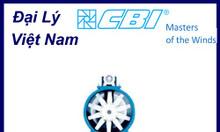 Đại lý CBI Fans Việt Nam, quạt công nghiệp CBI fans