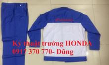 Quần áo sửa xe Honda giá rẻ tại HCM