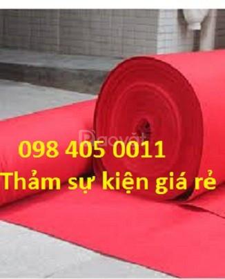 Phân phối thảm sự kiện giá rẻ tại Hà Nội